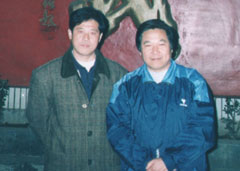 Ding Mingye with Li Enjiu